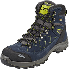 High Colorado Gaebris Mid High Tex Scarpe da trekking Uomo, blue/lime